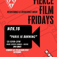 "Fierce Film Friday - ""Paris Is Burning"""