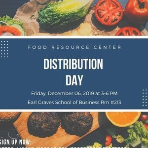 Food Resource Center Distribution Day