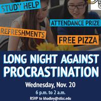 Long Night Against Procrastination