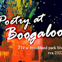 Poetry Night at Boogaloos!
