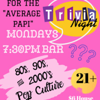 Trivia Night Every Monday at Papi's Hampden