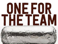 UR Cheer Chipotle Fundraiser