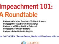 Impeachment 101: A Roundtable