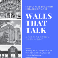 """Walls That Talk"" - LPCRI Fall 2019 Program"