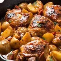 C-Cubed Luncheon - Braised Dijon Chicken w/ Mushrooms or Braised Mushrooms w/ Lentils