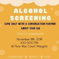 Margot's Alcohol Screening