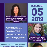 Intersectional Inequalities: Gender, Ethnicity, and Immigration - Student Research Conference