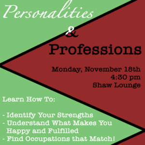 Personalities & Professions