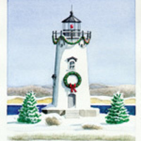 Christmas in Edgartown: Lighting of the Lighthouse