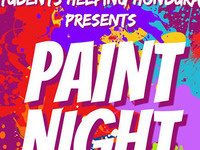 Paint Night with Students Helping Honduras