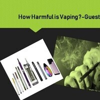 How Harmful is Vaping ? Guest Speaker Dr. Loui Taher