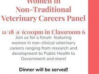 Women in Non-Traditional Veterinary Careers Panel