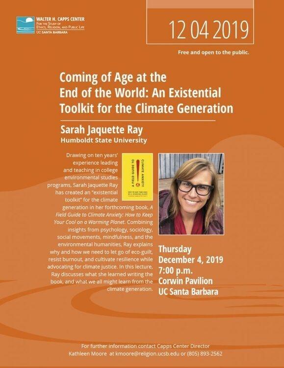 Sarah Jaquette Ray Uc Santa Barbara