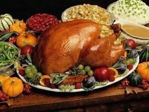 Thanksgiving Dinner in the Grand Ballroom