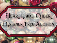 Hearthside Cheer: Designer Tree Auction
