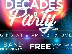 NYE 2020 Decades Party