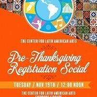 Hot Tamale! Pre-Thanksgiving Registration Social