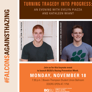 Turning Tragedy into Progress: An Evening with Evelyn Piazza and Rae Ann Gruver