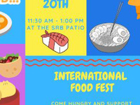 International FOOD FEST!