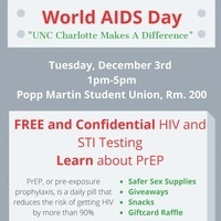 World AIDS Days Testing