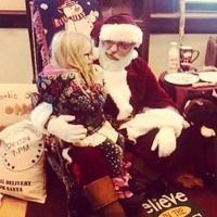 Santa's at the Old Post Office!