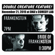 Frankenstein (1931) & Bride of Frankenstein (1935) Film Screenings