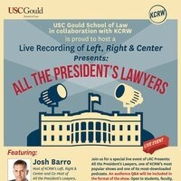 Live Recording of Left, Right & Center Presents: All the President's Lawyers