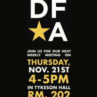 Design for America (DFA) Kickoff Meeting