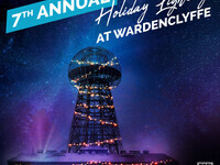 Holiday Lighting at Wardenclyffe