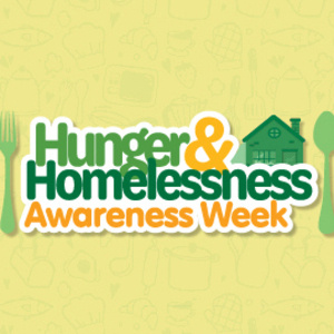 Make Cardboard Quotes for Hunger and Homelessness Awareness Week (VOLUNTEER OPPORTUNITY)