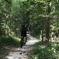 Mountain Bike: Comite River Trail, Session 2