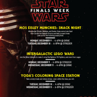 Star Wars Finals: Mos Eisley Munchies Snack Night