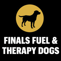 Finals Fuel & Therapy Dogs