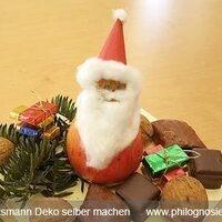 Holiday Crafting: German Apple Santas (Apfelmännchen)