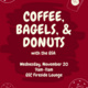 Coffee, Bagels, and Donuts with GSA