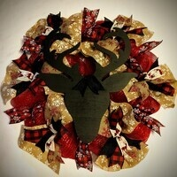 """Whet Your Palette """" Christmas Wreath"""""""
