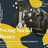 Swing Social Dance- with jazz band Parlour Noir