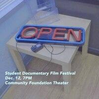 Student Documentary Film Festival poster