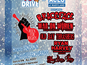 Rock For Rights 2019 Toy Drive and Benefit for the ACLU of MD