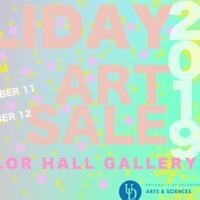 Department of Art and Design Holiday Art Sale