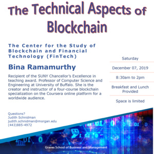 The Technical Aspects of Blockchain Workshop