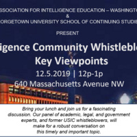 Intelligence Community Whistleblowers: Key Viewpoints