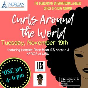 International Education Week 2019: Curls Around the World