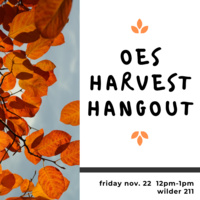 OES Harvest Hangout