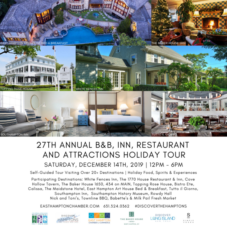 27th Annual B&B, Inn, Resturant & Attraction Holiday Tour
