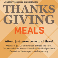 Thanksgiving Meal at Marketplace West
