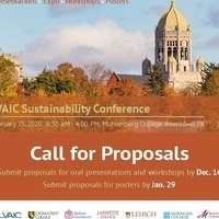 Call for Proposals - Poster Submissions for the 2020 LVAIC Sustainability Conference