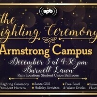 UPB ARM - Holiday Lighting Ceremony