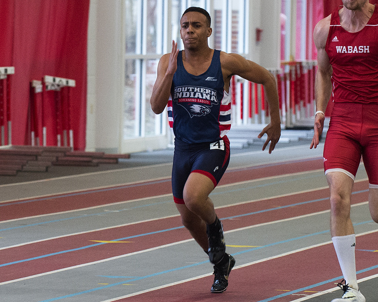 USI Men's Track & Field at Little Giant Open at Crawfordsville, IN