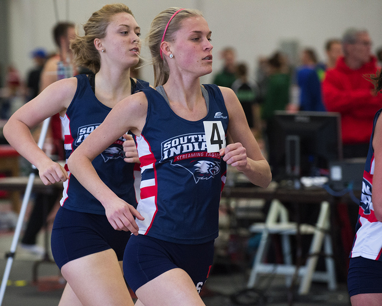 USI Women's Track & Field at Don DeNoon Inivitational at Carbondale, IL